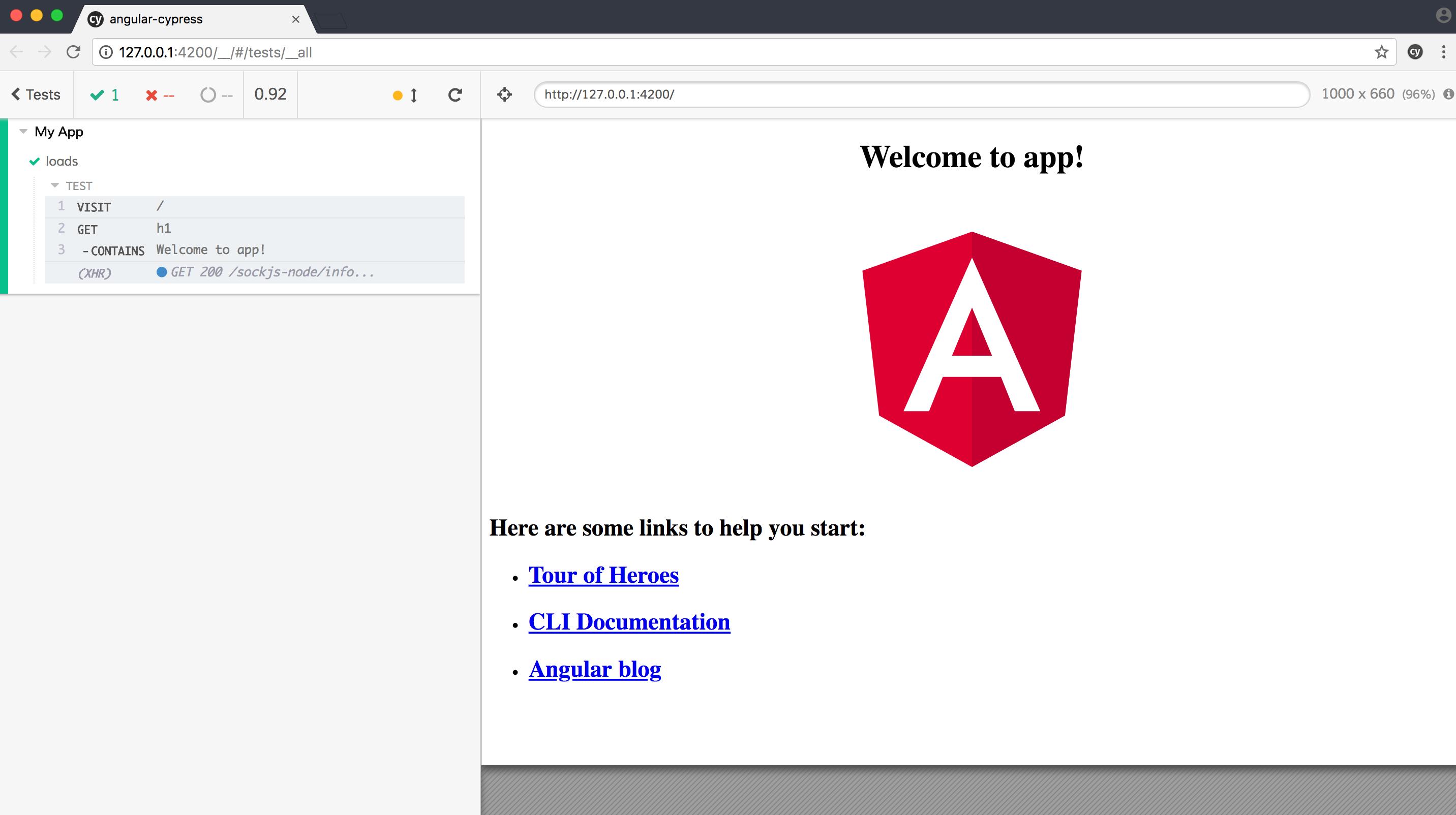 Testing Angular with Cypress and Docker   TestDriven io