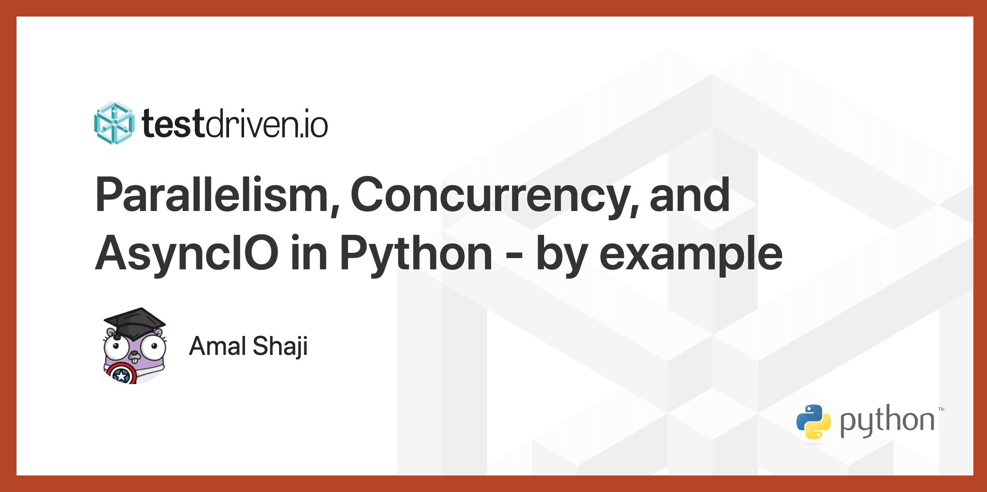Parallelism, Concurrency, and AsyncIO in Python