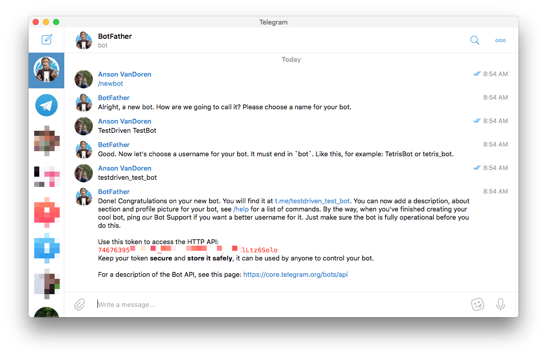 Getting Telegram Notifications From Travis CI | TestDriven io