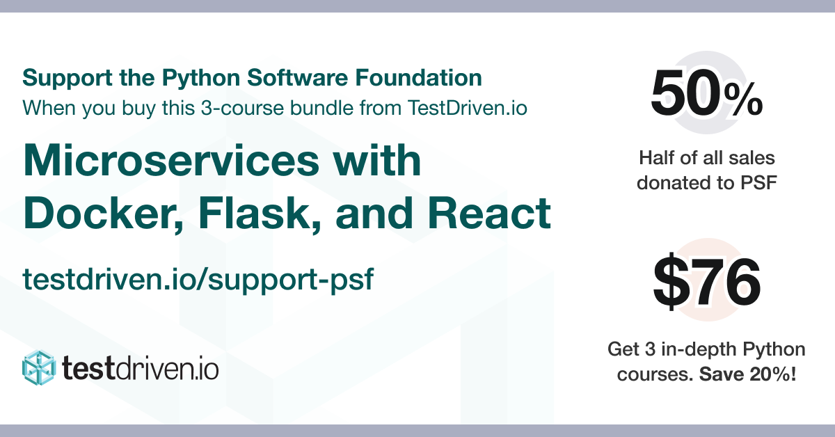 Support the Python Software Foundation